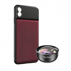 Lente Telefoto 85mm + Case para iPhone X / XS Apexel