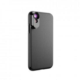 Lente Grande Angular e Telefoto  + Case para iPhone X / XS Apexel