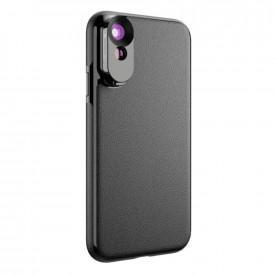 Lente Grande Angular e Telefoto  + Case para iPhone XS Max Apexel