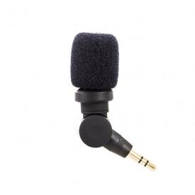 Microfone Externo para GoPro e Câmeras DSLR  - Saramonic 3.5mm TRS