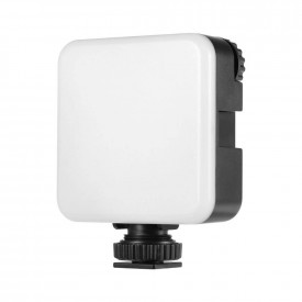 Mini Iluminador de Led RGB para Câmeras Profissionais DSLR - Telesin