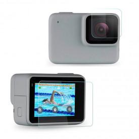 Película para GoPro Hero 7 Silver e GoPro Hero 7 White Vidro Temperado