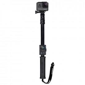 Bastão Extensor Sandmarc Pole Black Edition Câmeras GoPro e Similares