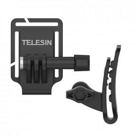 Suporte Clip para GoPro em Bonés e Alças de Mochila - Telesin