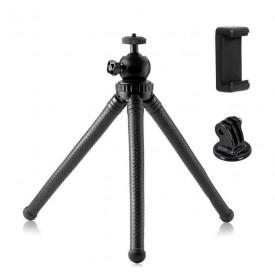 Tripé Articulado para Celular / GoPro / Câmeras Compactas - 25cm