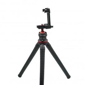 Tripé Flexível para Celular / Câmeras DSLR / GoPro - Telesin