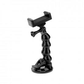 Suporte Ventosa Flexível para GoPro / Câmeras / Celulares
