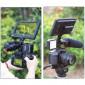 Adaptador de Montagem Triplo Sapata para Microfones / Leds / Monitores - Ulanzi