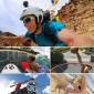 Suporte Adesivo Curvo Para GoPro e Câmeras Similares