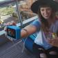 Capa de Silicone GoPro Hero 9 Black + Cordão Ajustável - ADSST