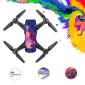 Conjunto com 4 Adesivos Decorativos para Drone DJI Spark Pgytech