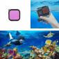 Filtro de Mergulho Magenta para Caixa Estanque GoPro Hero 8 Black