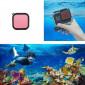 Filtro de Mergulho Snorkel para Caixa Estanque GoPro Hero 8 Black