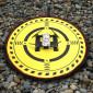 Pista de Pouso Heliponto 70cm com Led para DJI Spark / Mavic / Phantom