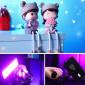 Iluminador de Led RGB para Câmeras / Celulares - Vijim VL-3