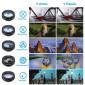 Kit de Lentes para Celular e Tablet Apexel 10 em 1