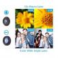 Kit Lente Telescópica para Celular 18X + 3 Lentes Diversas Apexel