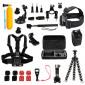 Kit de Acessórios para GoPro e Câmeras Similares com 25 Itens