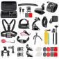 Kit de Acessórios com 36 Itens para Câmeras GoPro e Similares
