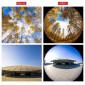 Lente Olho de Peixe / Fisheye 195º para Celular Apexel