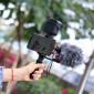 Placa de Montagem Dupla para Câmeras / Microfones / Flashes - Ulanzi