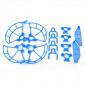 Protetor de Hélices, Dedos e Extensor Trem de Pouso Drone DJI Spark