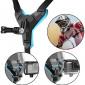 Suporte Capacete Queixo para GoPro e Câmeras Similares