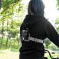 Suporte de Peito Duplo para GoPro e Câmeras Similares - Telesin