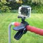 Suporte de Garra Flexível Jaws Para GoPro e Câmeras Similares