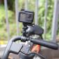Suporte Barras e Guidão Bike Moto para GoPro e Câmeras Similares