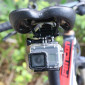 Suporte Selim Bike para GoPro e Câmeras Similares em Alumínio