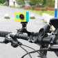 Suporte para Bike Bicicleta em Alumínio para Câmeras GoPro Hero SJCam